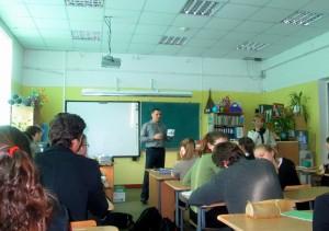 программа «Общего Дела» в гимназии №631 Приморского района