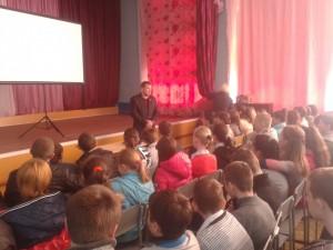 в школах г. Лисичанска и г. Приволье Украина