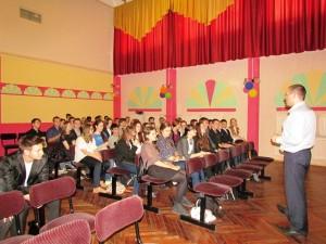 в школе №600 Санкт-Петербург