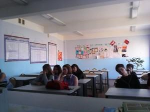в школе №582 Санкт-Петербург 9 класс