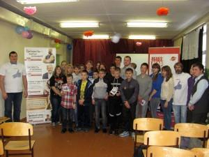 Общее дело в школе №111 села Плотниково Новосибирского района
