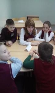Общее дело в школе №95 города Железногорска Краснодарского края Колеснеченко Владислав