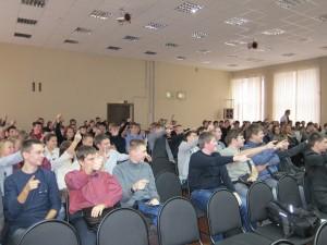Общее дело у студентов Нижегородского радиотехнического колледжа Кузнецова Татьяна