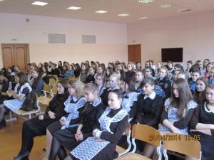 Общее дело в школе №11 города Нефтекамска Ильнур Шавалиев