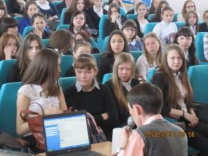 Общее дело в школе №10 города Нефтекамска Ильну Шавалиев