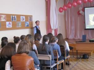 Общее дело в школе №8 города Нефтекамска Ильнур Шавалиев