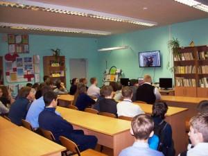 Общее дело в школе №8 города Кинешмы Тараканов Андрей
