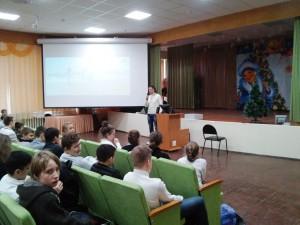 Общее дело в школе №30 города Волжский Волгоградской области Семенов Вадим