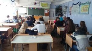 Общее дело в школе №32 города Волжского Волгоградской области Поповичев Сергей