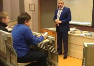 Встреча с учащимися лицея  при СПбГУТ им. профессора М.А.Бонч-Бруевича