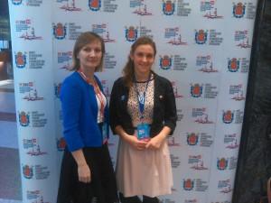 Участие во 2-м Международном молодежном форуме
