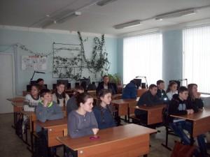 Общее дело в школе №1 города Кинешмы Ивановской области Андрей Тараканов
