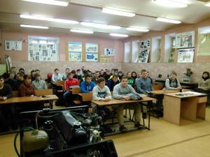 Общее дело во Владимирском Авиамеханическом колледже Комков Константин Вадимович