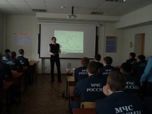 Общее дело в Ивановской пожарно-спасательной академии Иваном Ивлевым
