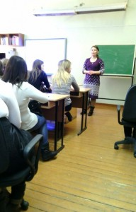 Общее дело в школе №6 города Омутнинска Кировской области Анна Смагина