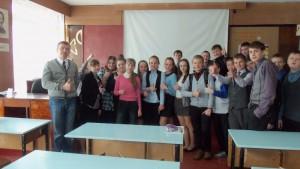 Общее дело в школе №1 города Великий Устюг Вологодской области Меркурьев Дмитрий