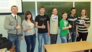 Общее дело в Великоустюгском гуманитарно-педагогическом колледже Вологодской области Меркурьев Дмитрий