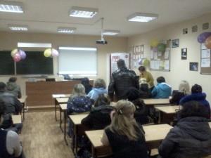 Общее дело на родительском собрании в школе №4 города Костромы Тихомиров Сергей