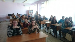 Общее дело в школе №32 города Волжский Волгоградской области Семенов Вадим