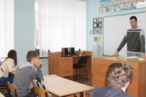 Общее дело в школе №4 города Костромы Александр Сальников