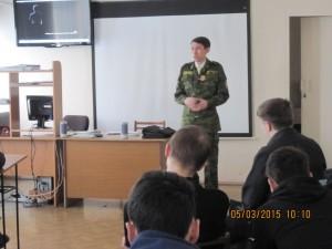 Общее дело в Агидельском филиале уфимского топливно-энергетического колледжа республики Башкортостан Ильнур Шавалиев