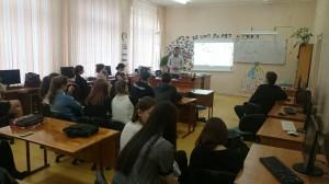 Общее дело в школе №1 города Волжский Волгоградской области Семенов Вадим