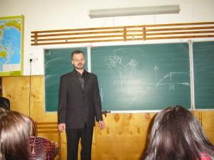 Общее дело в  школе №2 города Бежецка Тверской области Александр Дмитриев