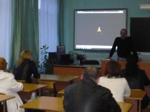 Общее дело на родительском собрании в школе №14 города Волжский Волгоградской области Семенов Вадим