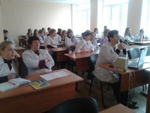 Общее дело в Воронежском базовом медицинском колледже Елена Косякова