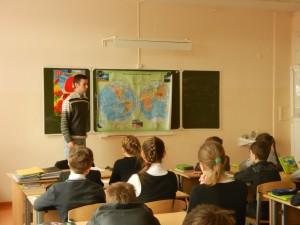 Общее дело в школе №1 города Костромы Сальников Александр