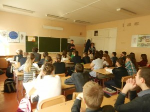 Общее дело в школе №1 города Костромы Тихомиров Сергей