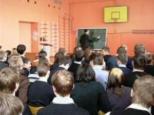 Общее дело в школах поселка Сонково Тверской области Александр Дмитриев