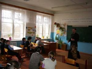Общее дело в школе деревни Поречье Тверской области Александр Дмитриев