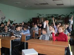 Общее дело в Палехской средней школе Иван Ивлев