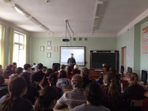Общее дело в школе №4 города Вязьмы Смоленской области Синицин Евгений