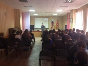 Общее дело в школе №1 города Вязьмы Смоленской области Синицин Евгений