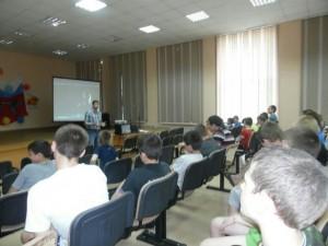Общее дело в специальной школе №124 города Екатеринбурга Вячеслав Бальцевич