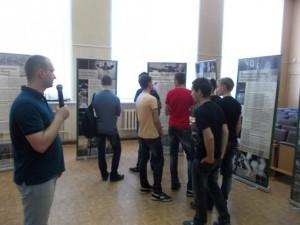 """Волонеры ОО """"Общее дело"""" организовали выставку для студентов Ивановскго автотранспортного колледжа"""