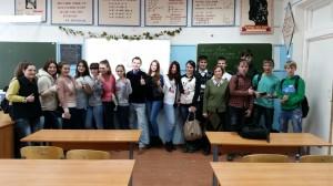 Общее дело в школе №4 города Сегежа республики Карелия
