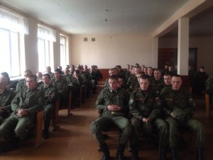Общее дело в воинской части №61207 г. Екатеринбурга  Вячеслав Бальцевич