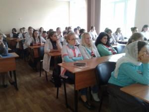 Общее дело в Базовом медицинском колледже города Воронежа