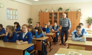Общее дело в гимназии №96 города Железногогрска республики Чувашия Колесниченко Владислав