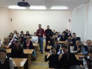 Общее дело в Караваевской школе Костромской области Тихомиров Сергей Павел Александров
