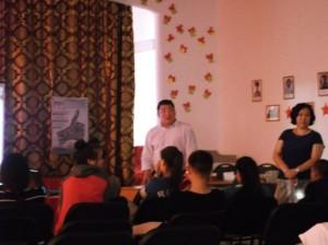 Общее дело в в школа интернате города Кызыла республики Тыва Денис Михайлов