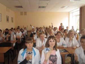 Общее дело в Медицинском колледже города Воронежа Елена Косякова