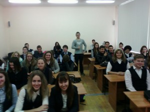 Общее дело в Караваевской школе Костромской области Павел Александров