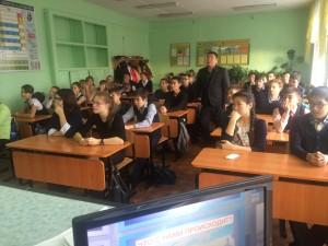 Общее дело в школе №14 города Кызыла республики Тыва Денис Михайлов