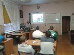 Общее дело в Профессиональном лицее №7 города Воронежа