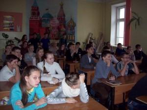 Общее дело в школе N6 города Кинешмы Ивановской области