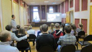 Общее дело в городской библиотеке города Покрова Владимирской области